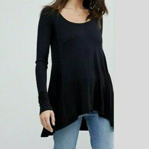 Free People January Ribbed Scoop Neck Thermal